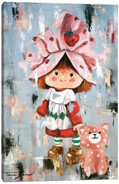 Strawberry Dreams Canvas Art Print