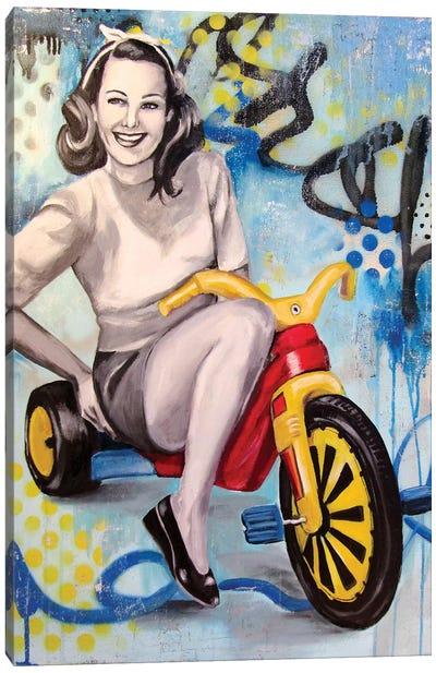 Boo Boo Bike  Canvas Art Print