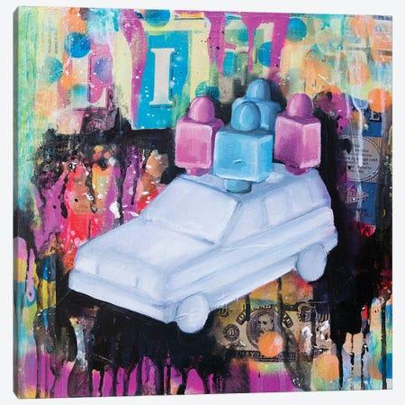 C'Est La Vie 3-Piece Canvas #GAM7} by Tara Gamel Canvas Art Print