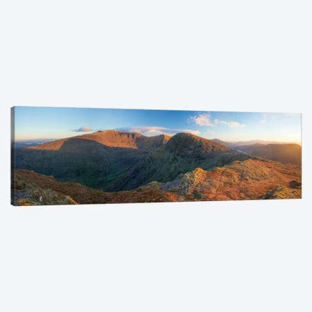 View From Stumpa Duloigh, Dunkerron Mountains, County Kerry, Munster Province, Republic Of Ireland Canvas Print #GAR100} by Gareth McCormack Canvas Wall Art