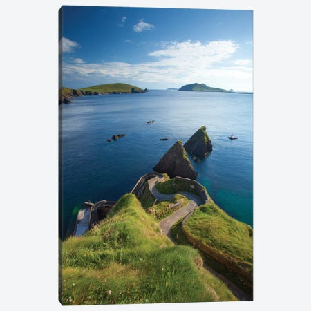 Winding Entryway I, Dunquin Harbour, Dingle Peninsula, County Kerry, Munster Province, Republic Of Ireland Canvas Print #GAR101} by Gareth McCormack Canvas Artwork