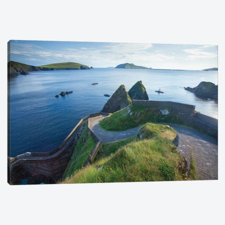 Winding Entryway II, Dunquin Harbour, Dingle Peninsula, County Kerry, Munster Province, Republic Of Ireland Canvas Print #GAR102} by Gareth McCormack Canvas Art