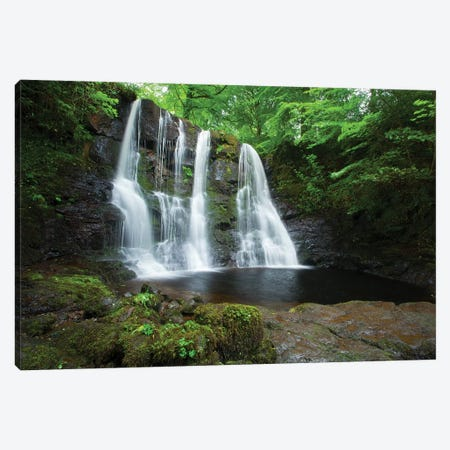 Ess-Na-Crub Waterfall, Glenariff Forest Park, County Antrim, Northern Ireland Canvas Print #GAR108} by Gareth McCormack Canvas Artwork
