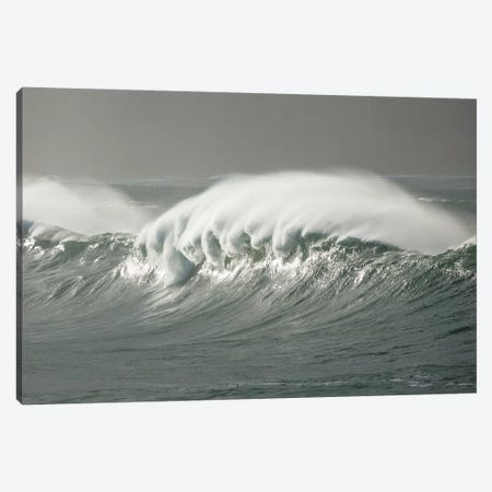 Atlantic Storm Waves Breaking Near Ballycastle, County Mayo, Ireland Canvas Print #GAR126} by Gareth McCormack Art Print
