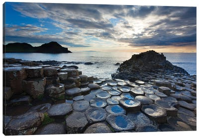 Blue Pools, Giant's Causeway, Co Antrim, Northern Ireland Canvas Art Print