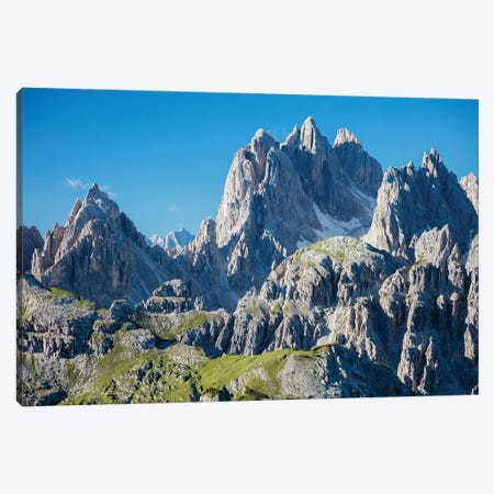 Cadini Di Misurina Mountains I, Sexten Dolomites, Italy Canvas Print #GAR129} by Gareth McCormack Canvas Wall Art