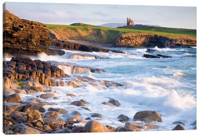 Coastal Landscape I, Mullaghmore, County Sligo, Connacht Province, Republic Of Ireland Canvas Art Print