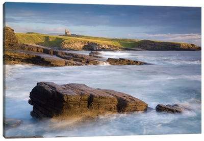 Coastal Landscape II, Mullaghmore, County Sligo, Connacht Province, Republic Of Ireland Canvas Art Print