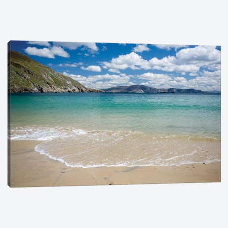 Keem Strand I, Achill Island, County Mayo, Ireland Canvas Print #GAR156} by Gareth McCormack Canvas Wall Art