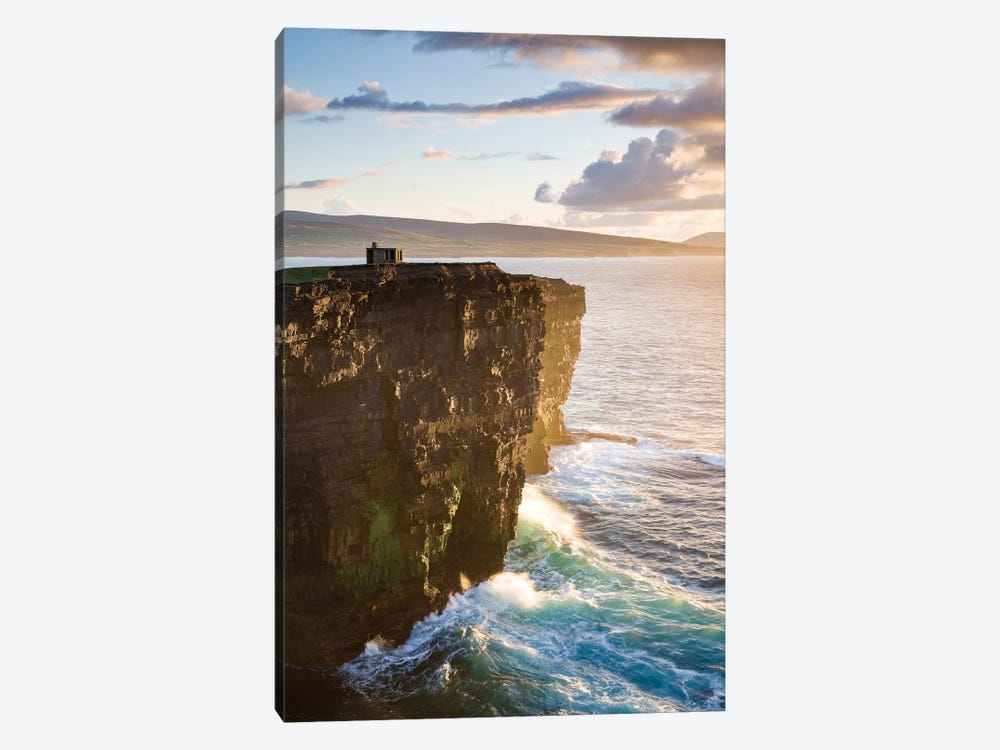 Coastal Landscape, Downpatrick Head, County Mayo, Connacht Province, Republic Of Ireland by Gareth McCormack 1-piece Art Print