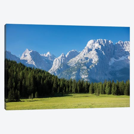 Monte Cristallo From The East I, Sexten Dolomites, Italy Canvas Print #GAR163} by Gareth McCormack Canvas Art