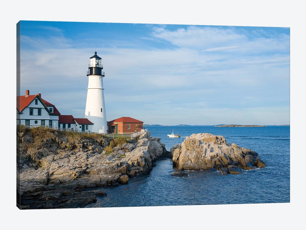 Portland Head Lighthouse, Maine, New England, USA by Gareth McCormack 1-piece Canvas Wall Art