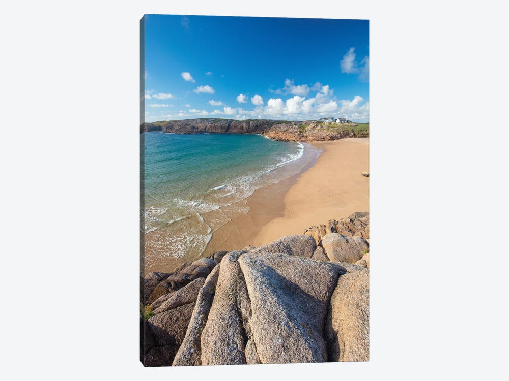 Sandy Cove In Traderg Bay I, Cruit Island, The Rosses, County Donegal, Ireland by Gareth McCormack 1-piece Canvas Wall Art