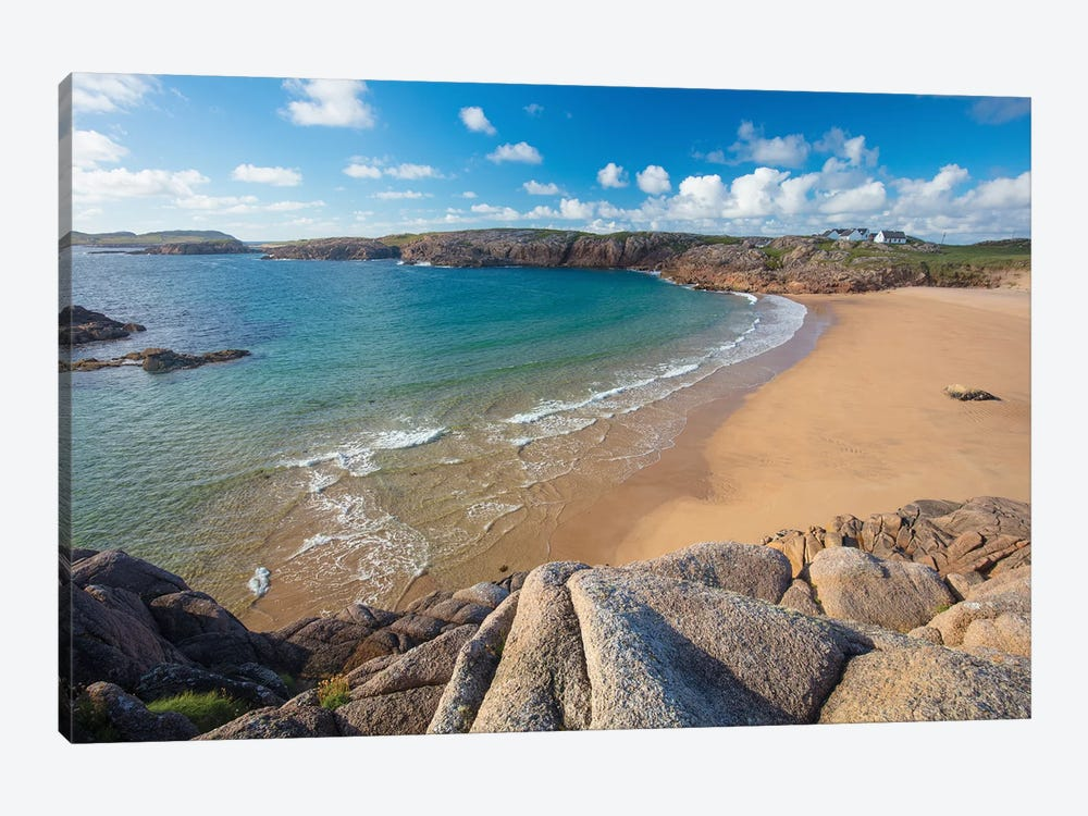 Sandy Cove In Traderg Bay II, Cruit Island, The Rosses, County Donegal, Ireland by Gareth McCormack 1-piece Art Print