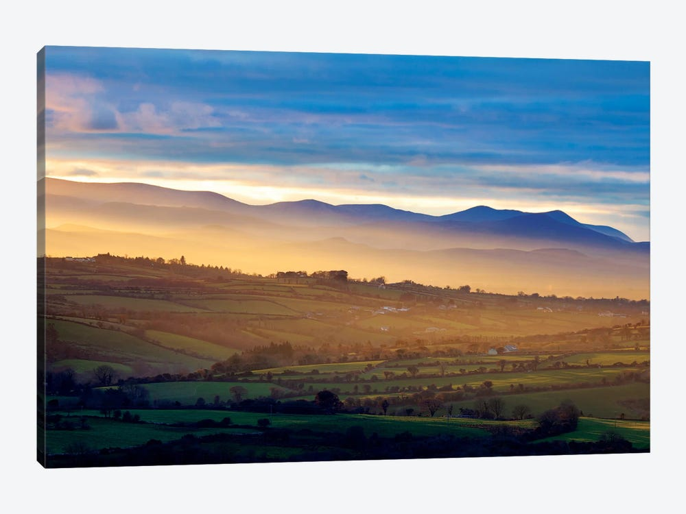 Countryside Landscape I, Near Killarney, County Kerry, Munster Province, Republic Of Ireland by Gareth McCormack 1-piece Canvas Art Print