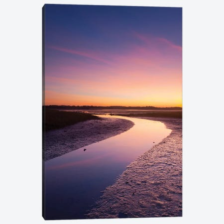 Sunset Over The River Moy Tidal Flats I, County Sligo, Ireland Canvas Print #GAR187} by Gareth McCormack Art Print