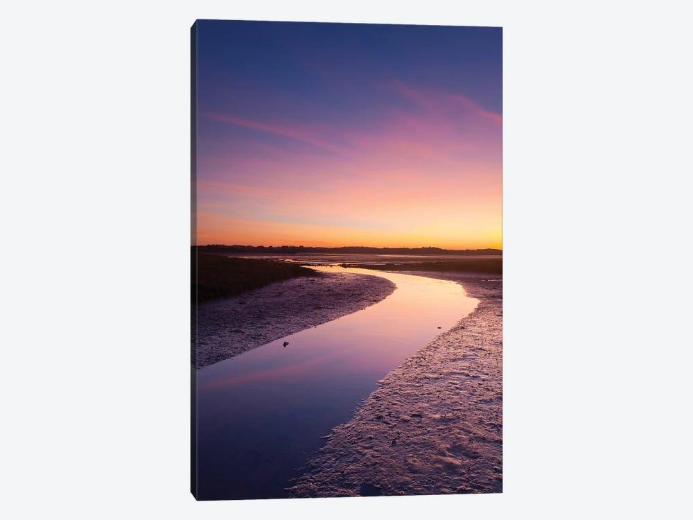Sunset Over The River Moy Tidal Flats I, County Sligo, Ireland by Gareth McCormack 1-piece Canvas Wall Art