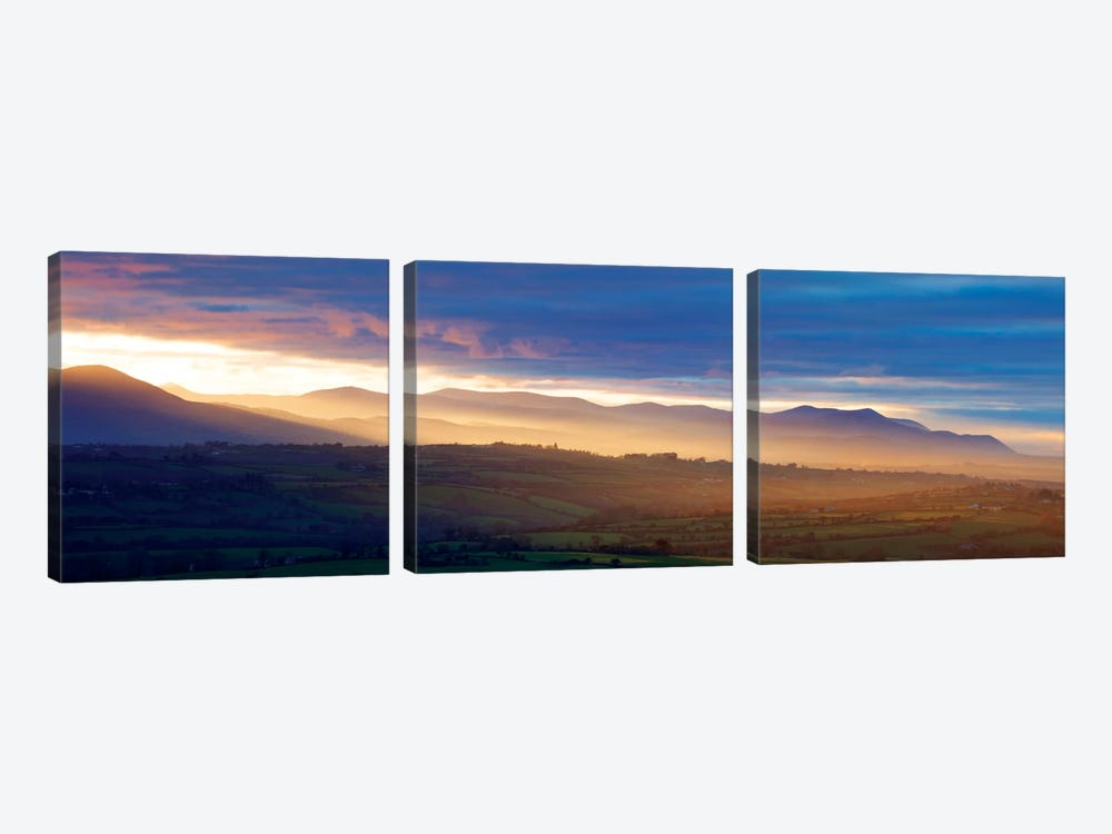 Countryside Landscape II, Near Killarney, County Kerry, Munster Province, Republic Of Ireland by Gareth McCormack 3-piece Canvas Art