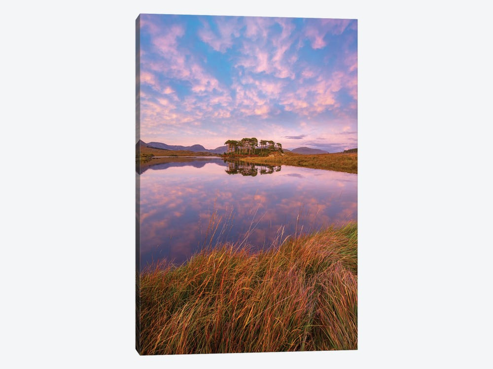 Sunset Reflections In Derryclare Lough I, Connemara, County Galway, Ireland by Gareth McCormack 1-piece Canvas Wall Art