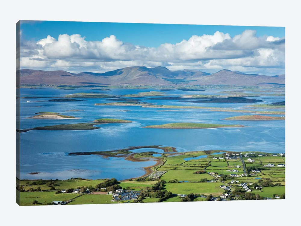 View Across Clew Bay From The Summit Of Croagh Patrick, County Mayo, Ireland by Gareth McCormack 1-piece Art Print