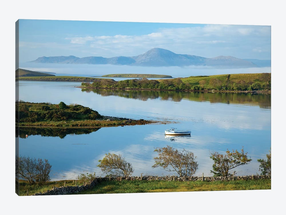 View Across Clew Bay To Croagh Patrick I, County Mayo, Ireland by Gareth McCormack 1-piece Canvas Artwork
