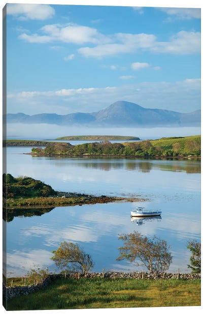 View Across Clew Bay To Croagh Patrick II,County Mayo, Ireland Canvas Art Print