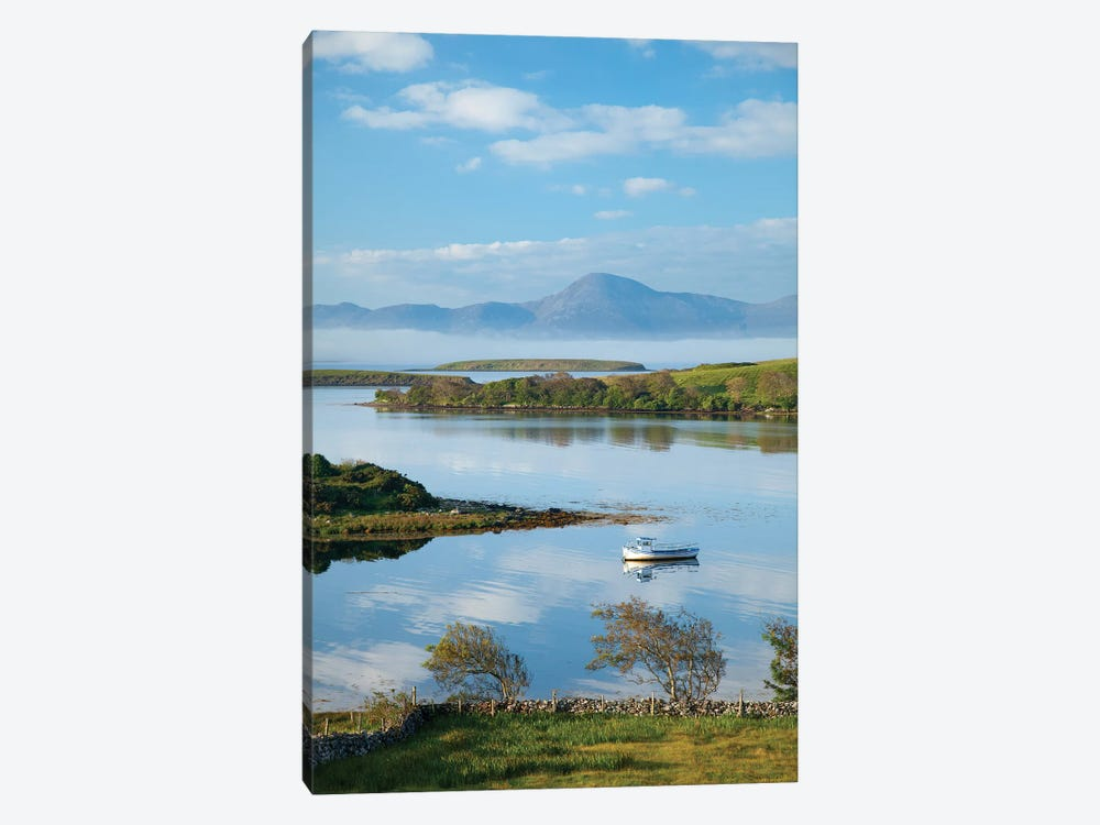 View Across Clew Bay To Croagh Patrick II,County Mayo, Ireland by Gareth McCormack 1-piece Canvas Print