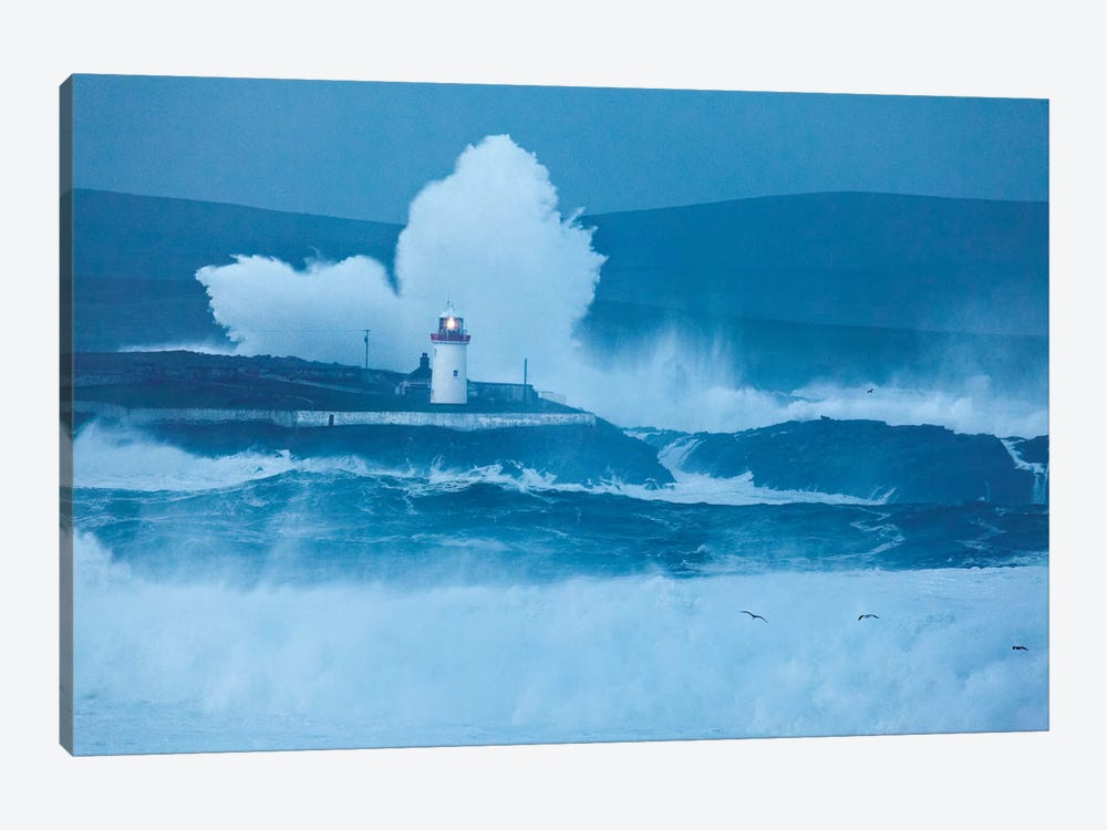 Crashing Waves I, Broadhaven Bay, County Mayo, Connact Province, Republic Of Ireland 1-piece Canvas Art Print
