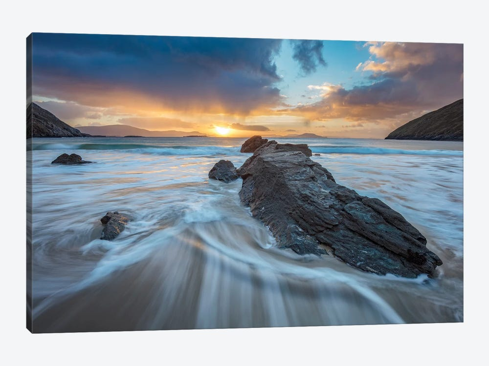 Winter Sunrise I, Keem Bay, Achill Island, County Mayo, Ireland by Gareth McCormack 1-piece Canvas Artwork