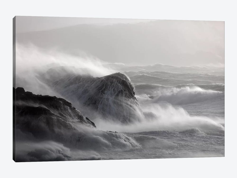 Crashing Waves I, County Mayo, Connacht Province, Republic Of Ireland by Gareth McCormack 1-piece Canvas Print