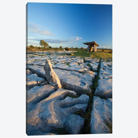 Poulnabrone Dolmen I Canvas Print #GAR218} by Gareth McCormack Canvas Artwork