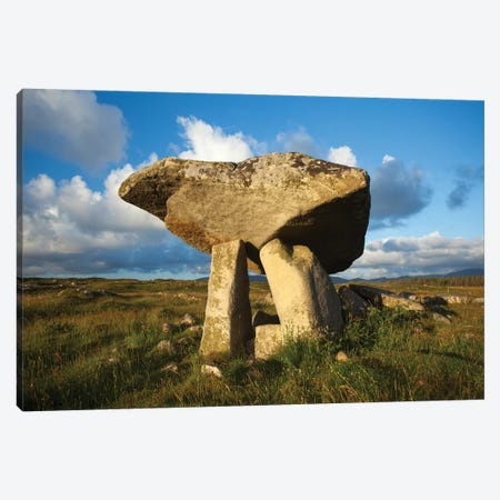 Kilclooney Dolmen, Donegal, Ireland Canvas Print #GAR223} by Gareth McCormack Canvas Print