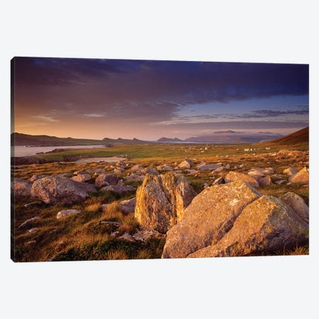 Dingle Peninsula Summer Evening, Ireland Canvas Print #GAR226} by Gareth McCormack Canvas Art