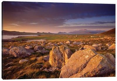 Dingle Peninsula Summer Evening, Ireland Canvas Art Print