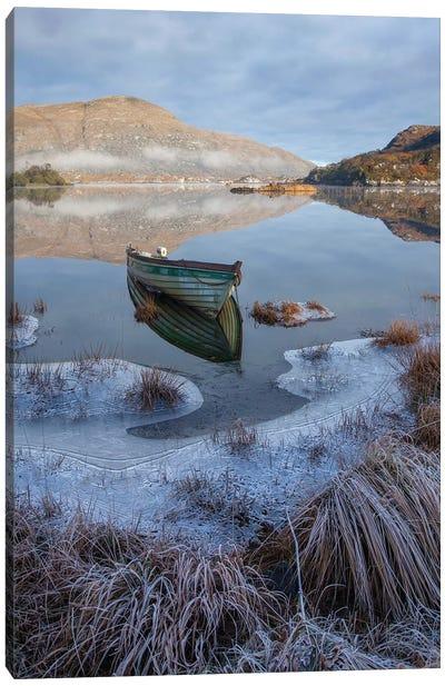 Killarney Lakes, Winter Morning I Canvas Art Print