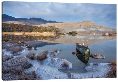 Killarney Lakes, Winter Morning II Canvas Art Print