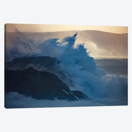 Crashing Waves II, County Mayo, Connacht Province, Republic Of Ireland Canvas Print #GAR22} by Gareth McCormack Canvas Art
