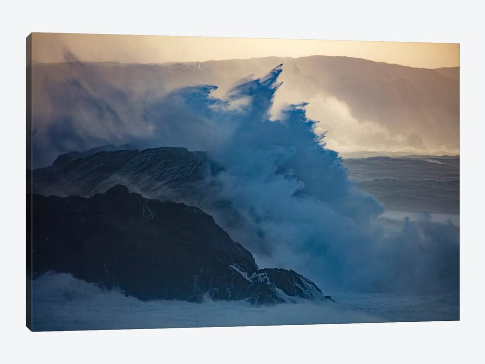 Crashing Waves II, County Mayo, Connacht Province, Republic Of Ireland by Gareth McCormack 1-piece Art Print