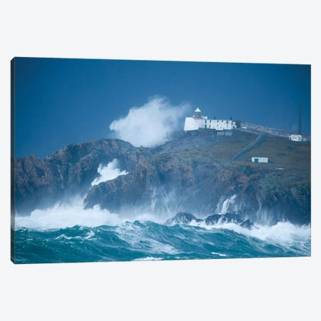 Crashing Waves, Eagle Island, Belmullet, County Mayo, Connacht Province, Republic Of Ireland Canvas Print #GAR23} by Gareth McCormack Canvas Art