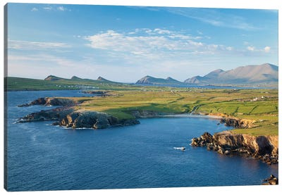 Dingle Peninsula, County Kerry, Munster Province, Republic Of Ireland Canvas Art Print