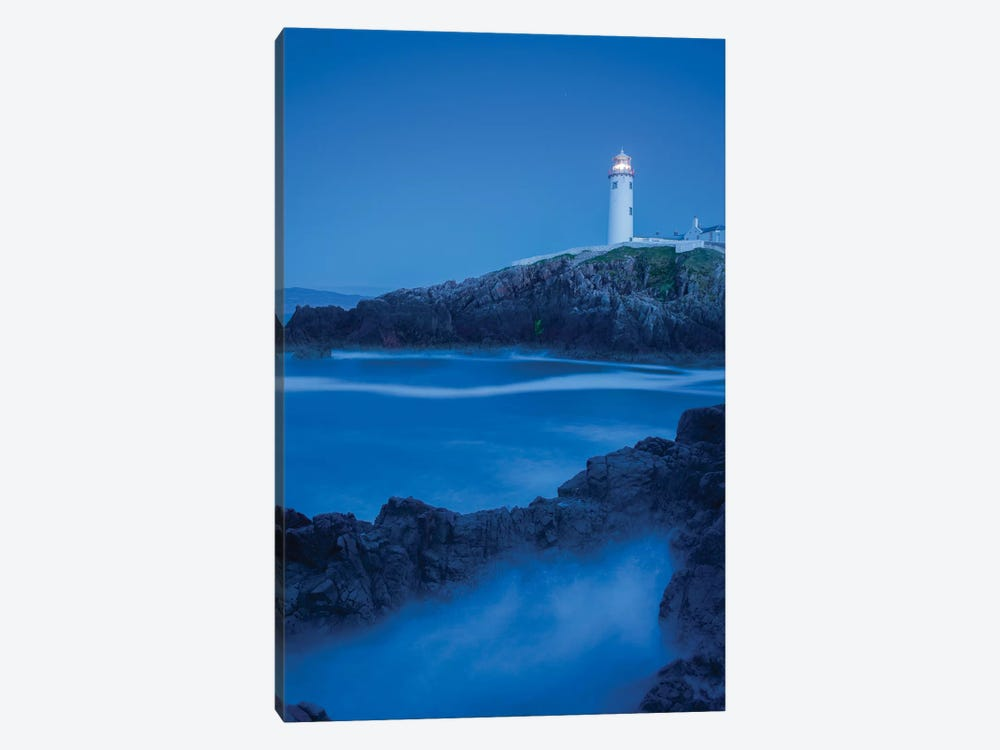 Dusk I, Fanad Head Lighthouse, County Donegal, Ulster Province, Republic Of Ireland by Gareth McCormack 1-piece Canvas Art Print