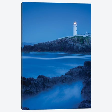 Dusk I, Fanad Head Lighthouse, County Donegal, Ulster Province, Republic Of Ireland Canvas Print #GAR35} by Gareth McCormack Canvas Art