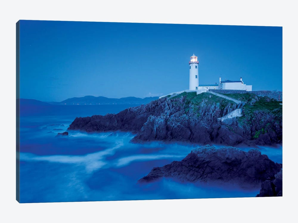 Dusk II, Fanad Head Lighthouse, County Donegal, Ulster Province, Republic Of Ireland by Gareth McCormack 1-piece Canvas Art