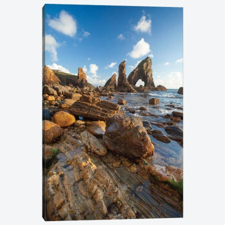 Evening Coastal Landscape II, Crohy Head, County Donegal, Ulster Province, Republic Of Ireland Canvas Print #GAR38} by Gareth McCormack Canvas Print