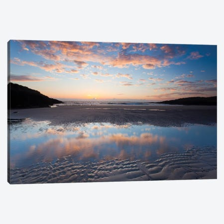 Evening Reflection I, False Bay, Connemara, County Galway, Connacht Province, Republic Of Ireland Canvas Print #GAR39} by Gareth McCormack Art Print