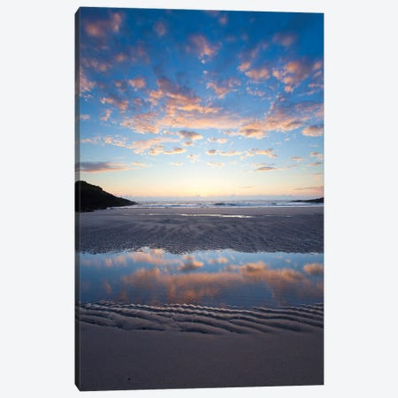 Evening Reflection II, False Bay, Connemara, County Galway, Connacht Province, Republic Of Ireland Canvas Print #GAR40} by Gareth McCormack Canvas Wall Art