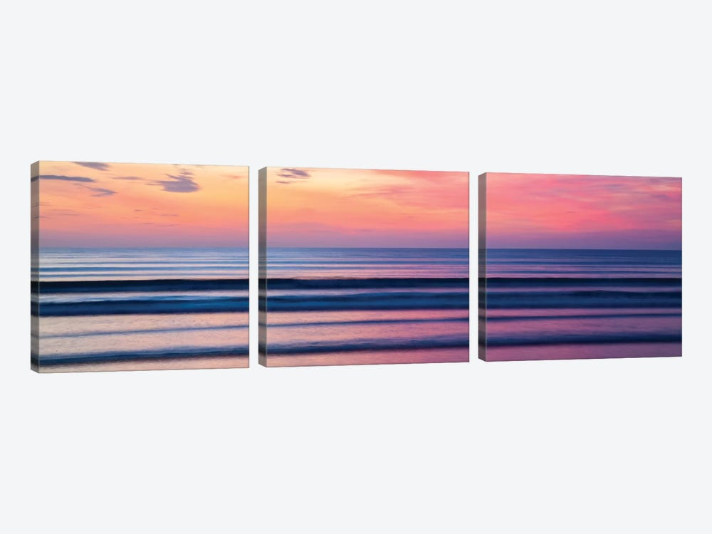 Evening Seascape, County Sligo, Connacht Province, Republic Of Ireland by Gareth McCormack 3-piece Canvas Art