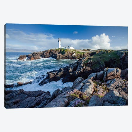 Fanad Head Lighthouse, County Donegal, Ulster Province, Republic Of Ireland Canvas Print #GAR42} by Gareth McCormack Canvas Artwork