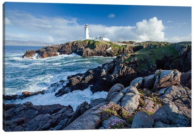 Fanad Head Lighthouse, County Donegal, Ulster Province, Republic Of Ireland Canvas Art Print