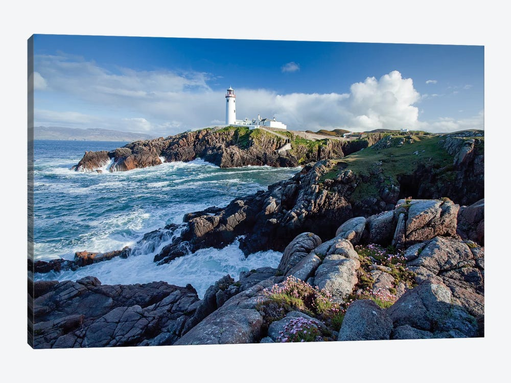 Fanad Head Lighthouse, County Donegal, Ulster Province, Republic Of Ireland by Gareth McCormack 1-piece Canvas Art Print